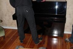 Klavier polieren